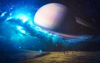 FREE Physics Masterclass galaxy saturn