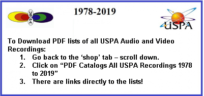 USPA Video and Audio PDF Order Lists FREE DOWLOAD